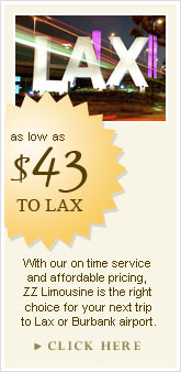 Los Angeles Town Car Rental
